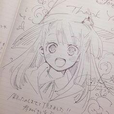 #Dessin sorcière Akko #LittleWitchAcademia par _yuka_f