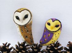 needle felted brooch - Google Search