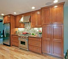 Redwood Kitchen - traditional - kitchen - milwaukee - by Blue Hot Design