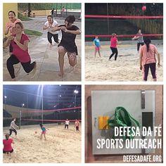 Defesa da Fé Sports Outreach  Treino Feminino  defesadafe.org  #sports #esporte #funcional #volleyball #voleibol