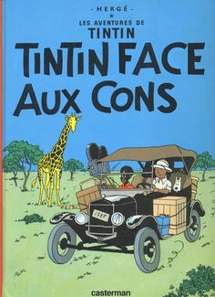 Les Aventures de Tintin - Album Imaginaire - Tintin Face aux Cons