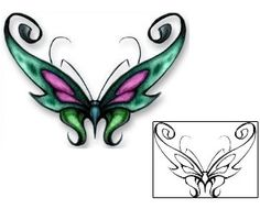 466d94bff Butterfly Tattoos DBF-00366 Created by David Bollt Insect Tattoo, Butterfly Tattoo  Designs,