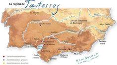 El mítico Reino de Tartessos y su área de influencia. 700-500 a.c. Edad de Hierro.