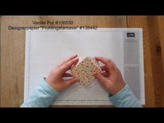 Diamantbox mit dem Envelope Punch Board Stampin` Up!