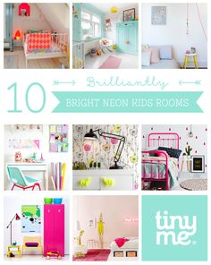 10 Brilliantly Bright Neon Kids Rooms ~ Tinyme
