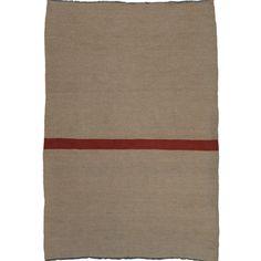 kelim tapijt met rode streep