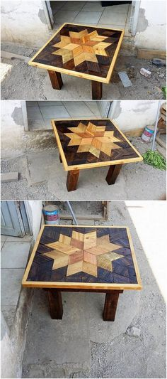 Check out this so elegant designed table work where the wood pallet creative designing impact has been adjusted out at the best. It is being all set with the black paint work hues of coloring that is so much designed in the plain and easy to build blends.