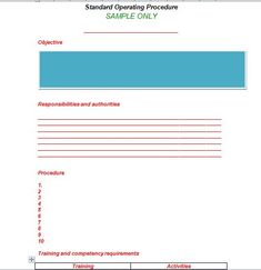 Sop Examples  Sop Template    Template Outlines And Folk