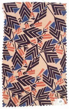 Textile sample, circa 1920   Designer: Josef Hoffmann (Austrian, 1870-1956)   Manufacturer: Wiener Werkstätte   The Metropolitan Museum of Art, New York