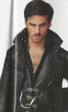 Colin as Captain Hook/Killian Jones in O.U.A.T. on ABC, 2012-present
