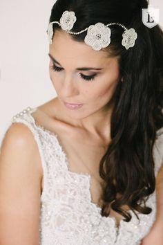 Wedding Dress by Solaine Piccoli. Headpiece by Niely Hötsch Luxury Wedding Photography by Ladies & Lord more on http://www.ladiesandlord.com/en/destination-wedding-photographer/shabby-chic-wedding-austria/