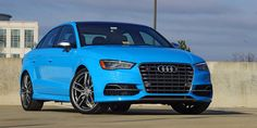 Riviera Blue Audi S3