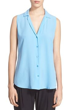 EQUIPMENT 'Adalyn' Silk Shirt. #equipment #cloth #