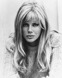 Britt Ekland, i dont know who this person is, but this is exactly what i want my hair to look like