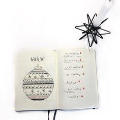 Inga (@ingasbujo) • Instagram photos and videos - Bulletjournal - weekly - weeklyspread - December