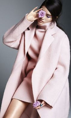Pastel For Fall #blush #outerwear www.lab333.com https://www.facebook.com/pages/LAB-STYLE/585086788169863 http://www.labs333style.com www.lablikes.tumblr.com www.pinterest.com/labstyle