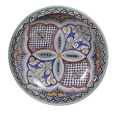 Features:  -Moroccan collection.  -Color: Multi.  Product Type: -Platter…