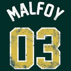 Draco Malfoy - Quidditch Shirt - NO.3
