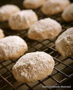 Vegan Nutty Wedding Cakes from the cookbook Vegan Cookies Invade Your Cookie Jar