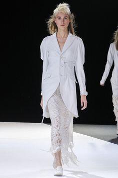 Like the white jacket.  Yohji Yamamoto s/s13 from style.com