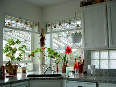 20 Kitchen Designs With Beautifully Stained Glass Windows | Beautiful,  Stains And Over The