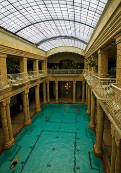 Gellért Bath in Budapest