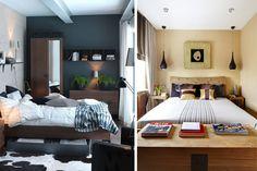 Arredare una camera da letto piccola - Stanza da letto accogliente ...