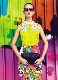 Vogue Brazil April 2013, gorgeous!my vibrant style!