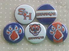 College Teams Sam Houston Bearkats Logos 1 by BeyondAButtonShop