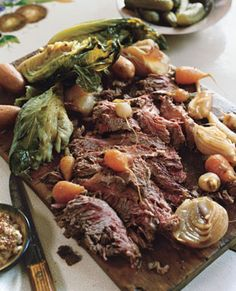 Homemade Irish Corned Beef and Vegetables
