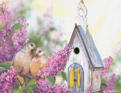 Птички - Схемы вышивки - 777Маргарита - Авторы - Портал «Вышивка крестом»