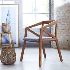 Scandinavian chair: 17 wooden models for the dining room - bench