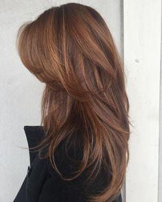 Auburn hair for Autumn