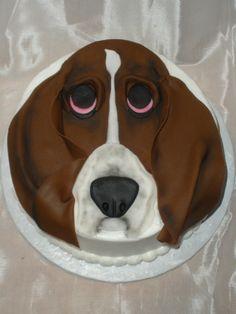 Basset Hound Birthday Cake Cake Ideas Puppy Cake