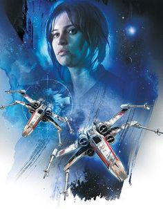 Galaxy Fantasy: Observa el nuevo arte promocional de Rogue One: A Star Wars Story
