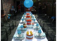 Baby Shower Tea Party Tablescape