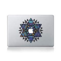 City Mandala Macbook Sticker #design #macbook #macbookstickers #pimpmymacbook #decals #stickers #vinyl #DIY #laptop #city #mandalas