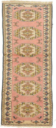 Pink 3' 0 x 6' 10 Kars Rug | Oriental Rugs | eSaleRugs