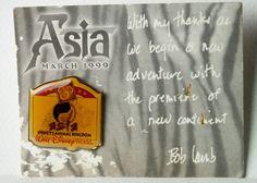 Disney Pin 120 WDW Animal Kingdom Asia Opening Day Press Set 1999 RARE LE1200 #Disney