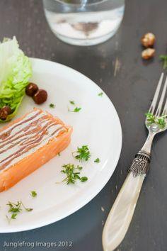 Salmon terrine