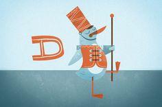 animal alphabet: Scott Allen Hill