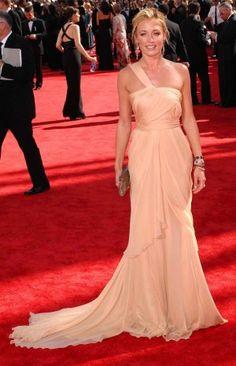Cat Deeley Yellow Prom Dress Emmy Awards 2009 Red Carpet Dress One Shoulder  Dress celeblish. 6a2df695c559