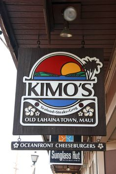 Kimo's Maui....my favorite restaurant! Best mai tai in Hawaii!