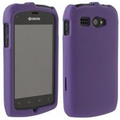 Kyocera Hydro Compatible Rubberized Protective Shield - Purple - $7.95