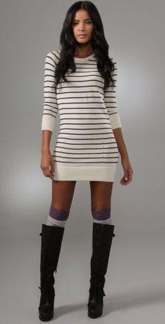 Siyah çizme modeli