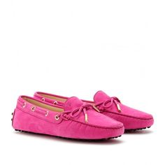 Tod's Heaven New Lacetto Loafers ($384) ❤ liked on Polyvore
