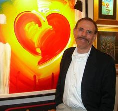 Peter Max.   sat next to him on a cross country flight in first class. fun conversation.