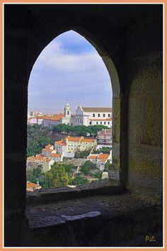 Across the window (from tower of the Castelo de São Jorge) Lisbon - Alfama, Portugal Copyright: Pilar Fornells