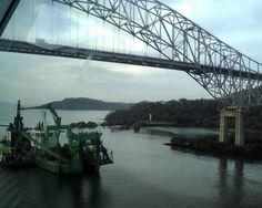 The America's Bridge in Panama