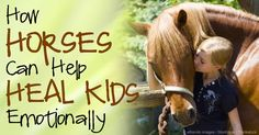 A recently published study reveals that kids who work with horses have a significant reduction in stress. http://healthypets.mercola.com/sites/healthypets/archive/2014/08/07/horse-interaction-stress-reduction.aspx